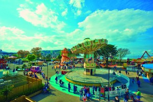 fair ground at Butlins just for tots weekend