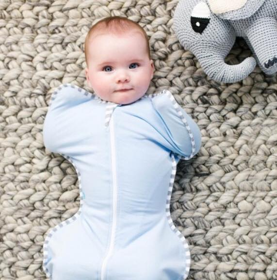 Baby swaddle. The perfect baby shower gift for mummies to be.