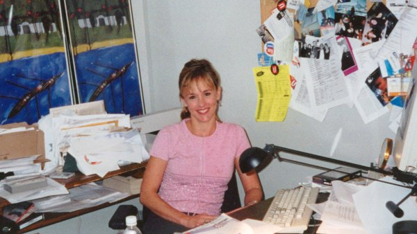 Journalist Wendy Mesley in her office at CBC Toronto