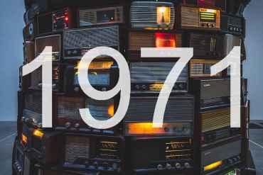Alte Radios 1971