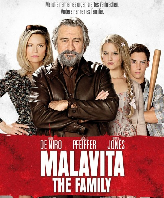 Filmposter: Malavita - The Family