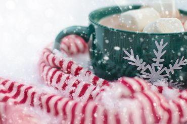 Bild aus Weihnachtstasse