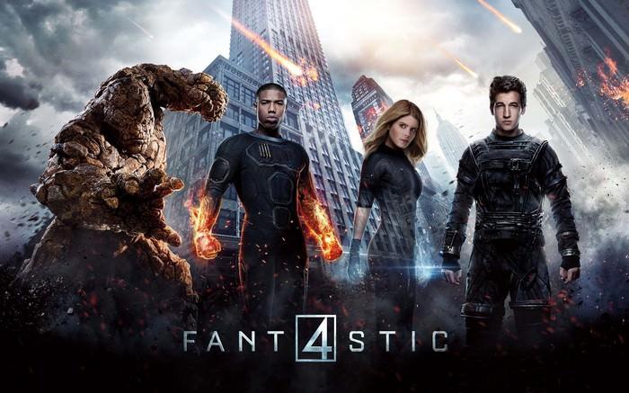 Filmposter: Fantastic 4