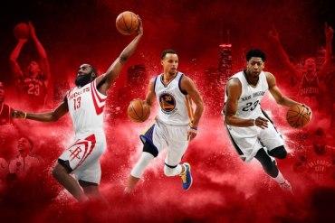 Screenshot aus NBA 2K16 Werbung