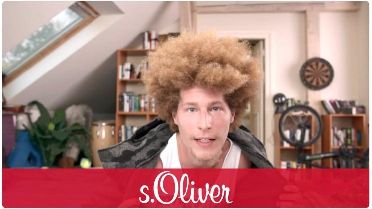 Screenshot aus s.Oliver Werbung