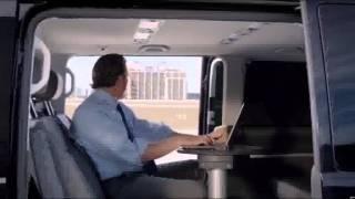 Screenshot aus VW Multivan Werbung