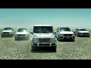Screenshot aus Mercendes Benz SUV Werbung