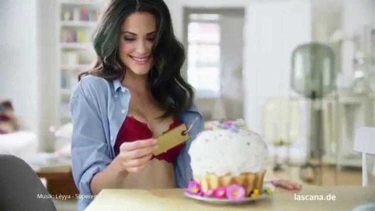 Screenshot aus LASCANA Werbung