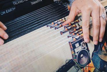 Verschiedene Schallplatten