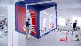 Screenshot aus Lacoste L!VE Werbung