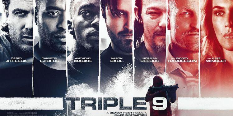 Filmposter Triple 9