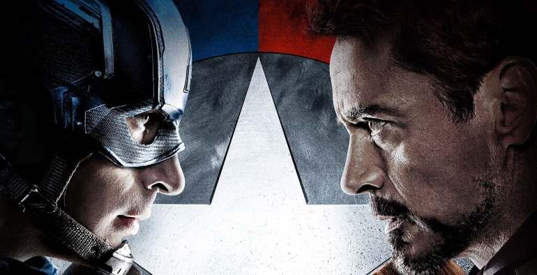 Filmposter The first Avengers Civil War
