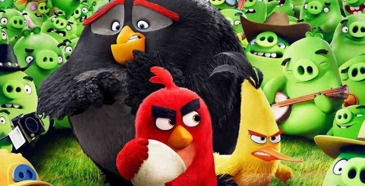 Filmposter Angry Birds