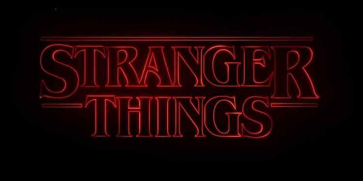 Filmposter Stranger Things