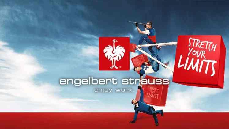 Screenshot aus Engelbert Strauss Werbung