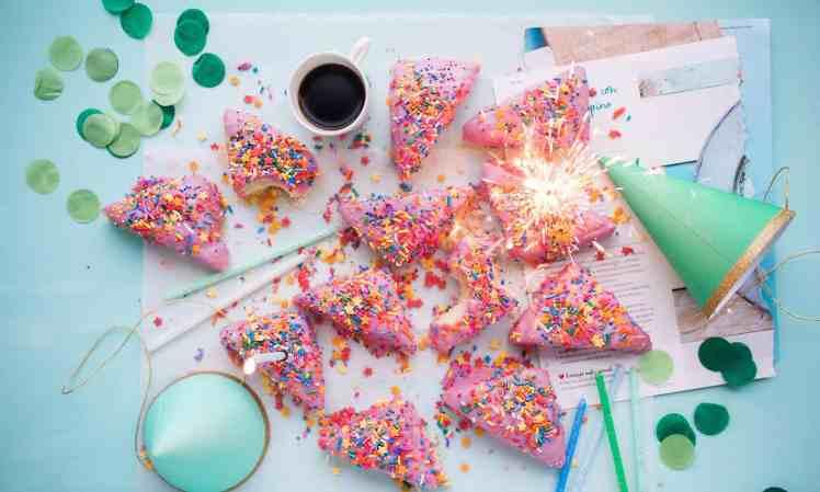 Party, Kuchen, Geburtstag