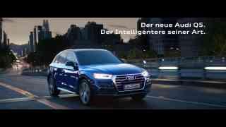Screenshot aus Audi Q5 Werbung