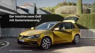 Screenshot aus Volkswagen Golf Werbung