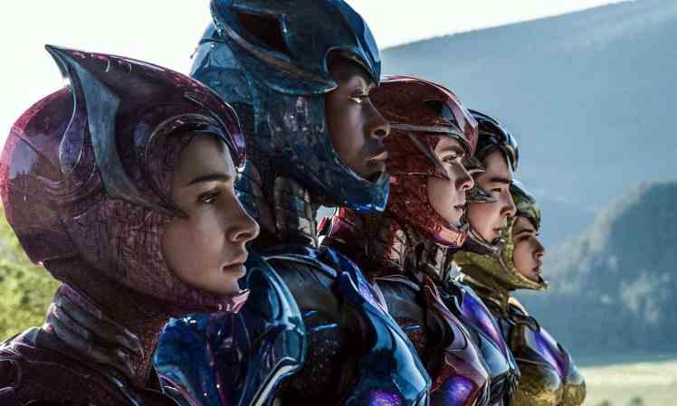Filmposter Power Rangers