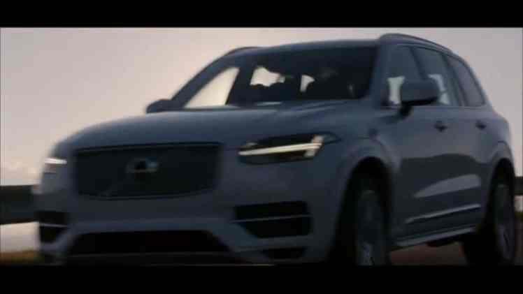 Screenshot aus Volvo XC90 Werbung