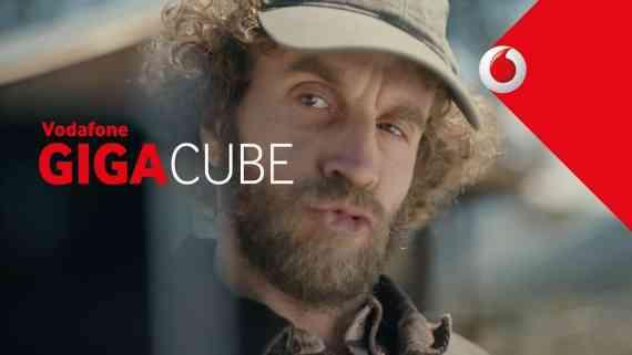 Screenshot aus Vodafone Gigacube Werbung