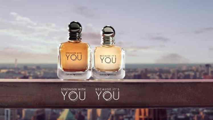 Screenshot aus Giorgio Armani Werbung