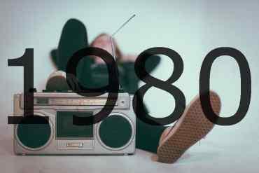 Altes Radio 1980