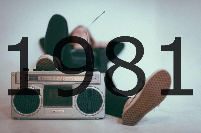 Altes Radio 1981