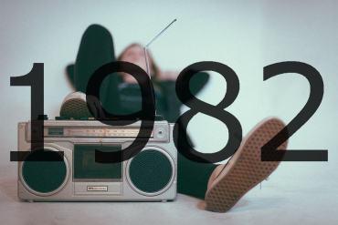 Altes Radio 1982