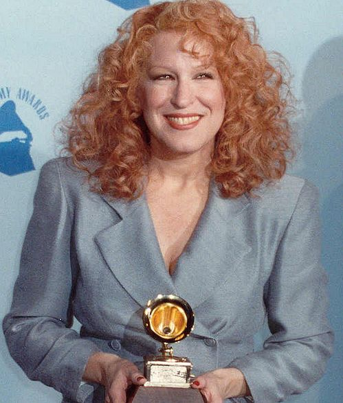 "photo by Alan Light, <a href=""https://commons.wikimedia.org/wiki/File:BetteMidler90cropped.jpg"">BetteMidler90cropped</a>, <a href=""https://creativecommons.org/licenses/by/2.0/legalcode"">CC BY 2.0</a>"