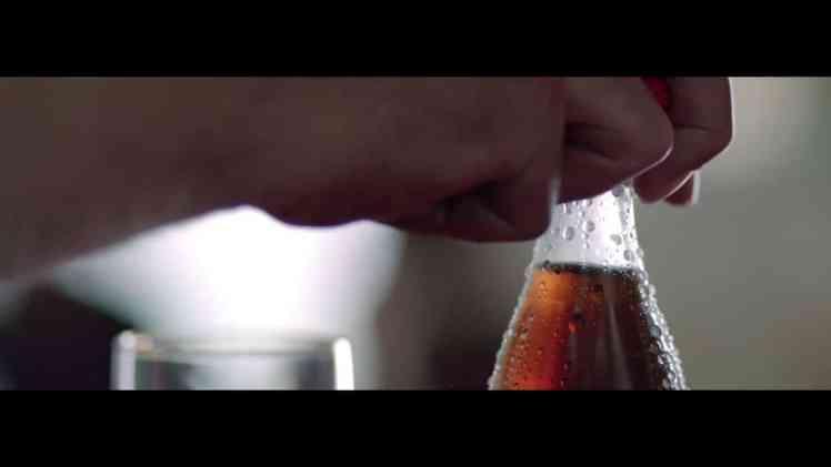 Screenshot aus Coca-Cola Zero Werbung