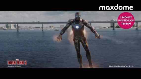 Screenshot aus Maxdome Werbung