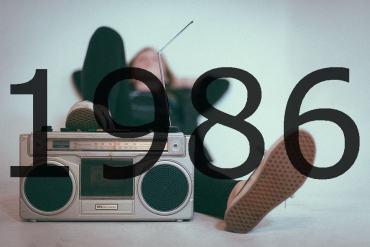 Altes Radio 1986