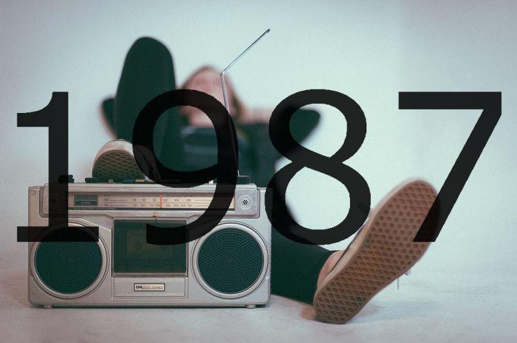 Altes Radio 1987