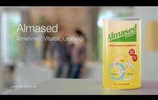 Screenshot aus Almased Werbung