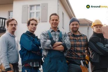 Screenshot aus der Aroundhome Werbung