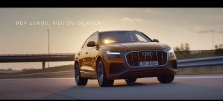 Screenshot aus Audi Q8 Werbung