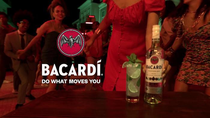 Screenshot aus der Bacardi Werbung