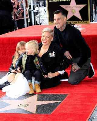 Pink und Carey Hart mit ihren Kindern