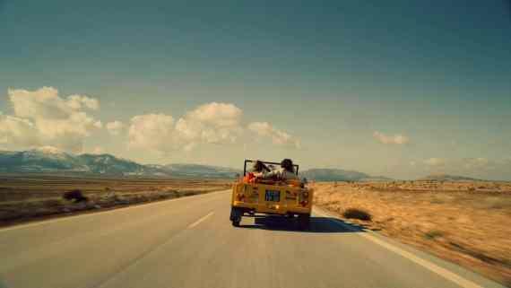 Screenshot aus Citroën Werbung