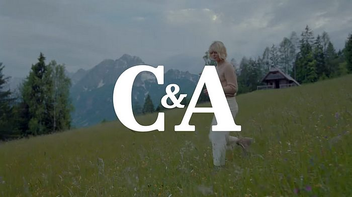 Screenshot aus der C&A Werbung