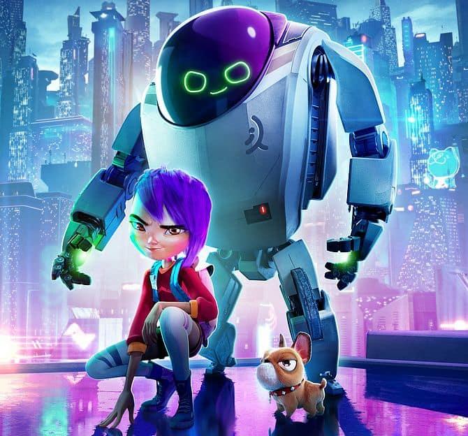 Next Gen – Das Mädchen und ihr Roboter Netflix-Poster