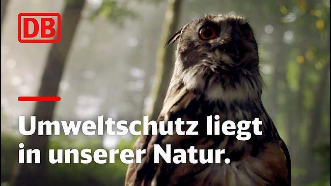 Screenshot aus DB TV-Spot Klima und Umwelt