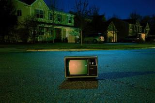 Fernseher im Freien