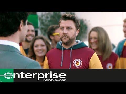 Screenshot aus Enterprise Rent-A-Car Werbung
