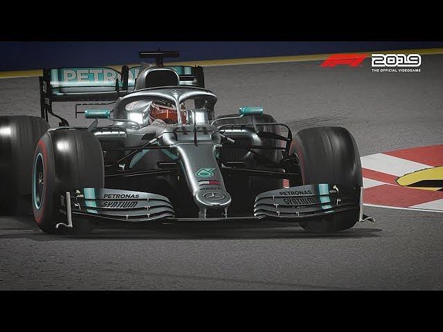Screenshot aus F1 2019 TV-Spot Videospiel