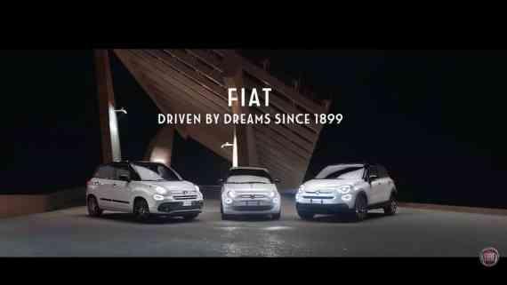 Fiat 500 Bild aus Werbung