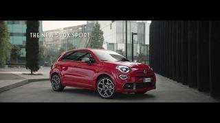 Screenshot aus der Fiat 500x Sport Werbung