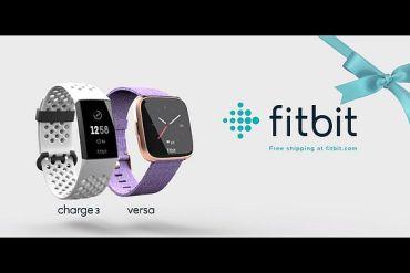 Screenshot aus Fitbit Charge 3 Versa Werbung