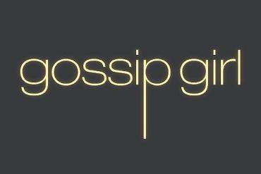 Schriftzug Gossip Girl